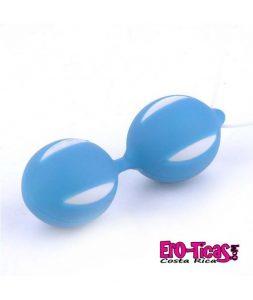 Bolas geisha duo azul